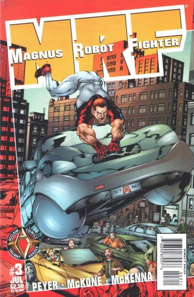 Cover for Magnus Robot Fighter (Acclaim / Valiant, 1997 series) #3