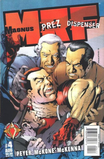 Cover for Magnus Robot Fighter (Acclaim / Valiant, 1997 series) #4