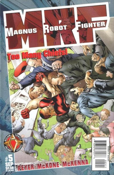 Cover for Magnus Robot Fighter (Acclaim / Valiant, 1997 series) #5