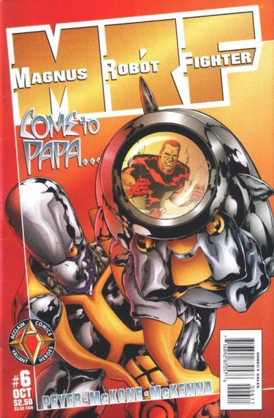 Cover for Magnus Robot Fighter (Acclaim / Valiant, 1997 series) #6