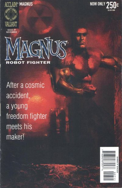 Cover for Magnus Robot Fighter (Acclaim / Valiant, 1997 series) #7