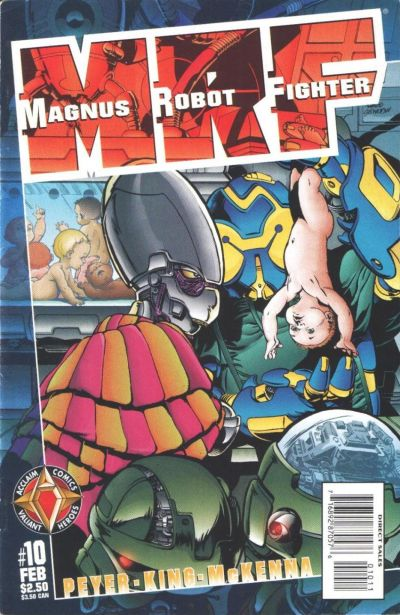 Cover for Magnus Robot Fighter (Acclaim / Valiant, 1997 series) #10