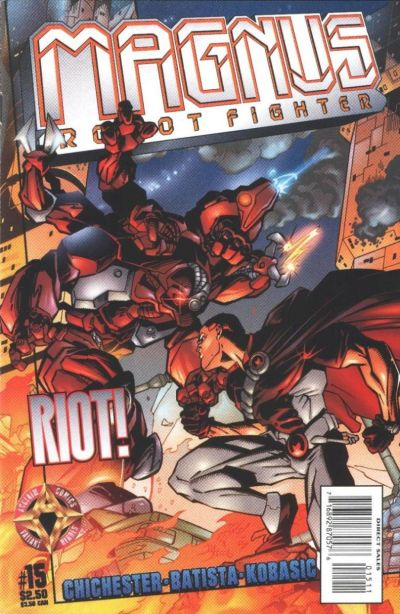 Cover for Magnus Robot Fighter (Acclaim / Valiant, 1997 series) #15
