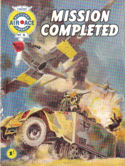 Cover for Air Ace Picture Library (IPC, 1960 series) #4