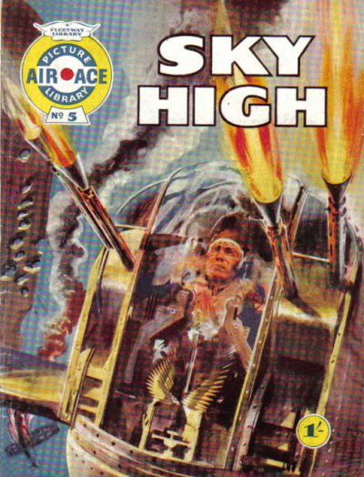 Cover for Air Ace Picture Library (IPC, 1960 series) #5