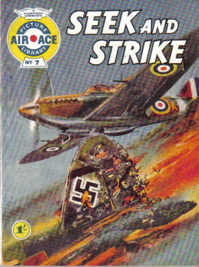 Cover for Air Ace Picture Library (IPC, 1960 series) #7