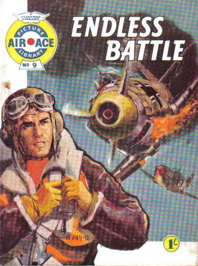Cover for Air Ace Picture Library (IPC, 1960 series) #9