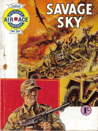 Cover for Air Ace Picture Library (IPC, 1960 series) #22