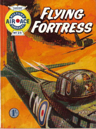Cover for Air Ace Picture Library (IPC, 1960 series) #25