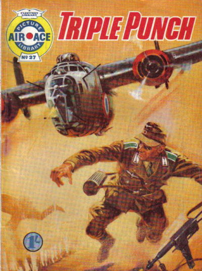 Cover for Air Ace Picture Library (IPC, 1960 series) #27