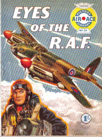Cover for Air Ace Picture Library (IPC, 1960 series) #28