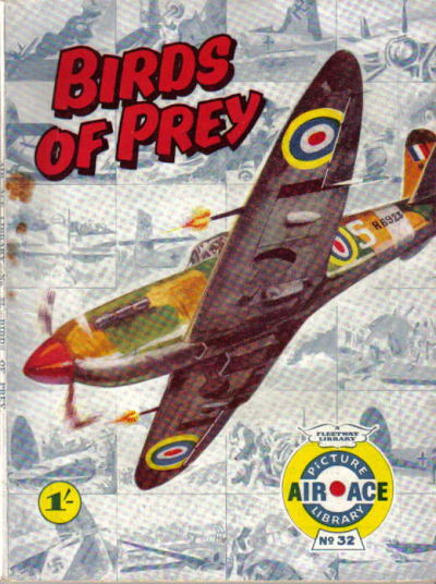 Cover for Air Ace Picture Library (IPC, 1960 series) #32