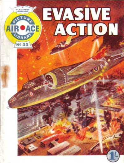 Cover for Air Ace Picture Library (IPC, 1960 series) #33