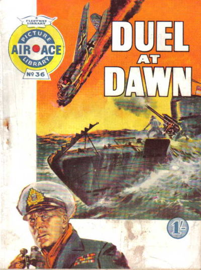 Cover for Air Ace Picture Library (IPC, 1960 series) #36