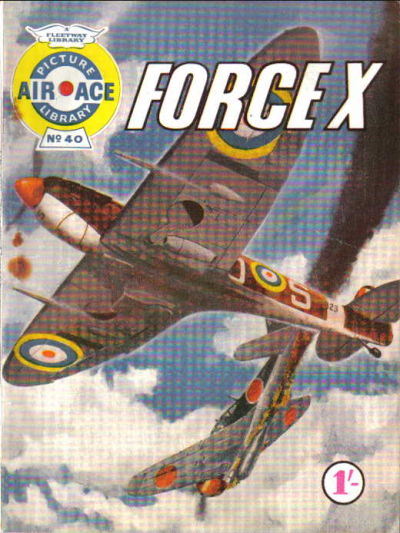 Cover for Air Ace Picture Library (IPC, 1960 series) #40