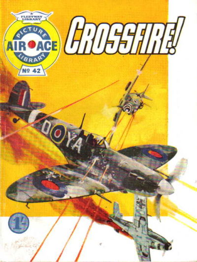 Cover for Air Ace Picture Library (IPC, 1960 series) #42