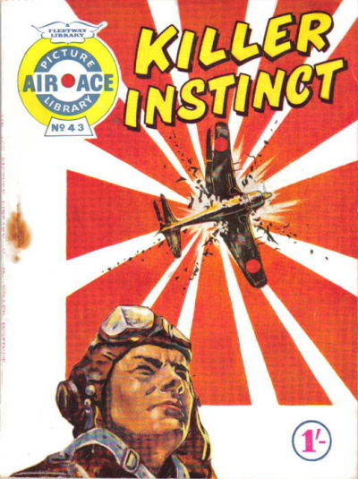 Cover for Air Ace Picture Library (IPC, 1960 series) #43