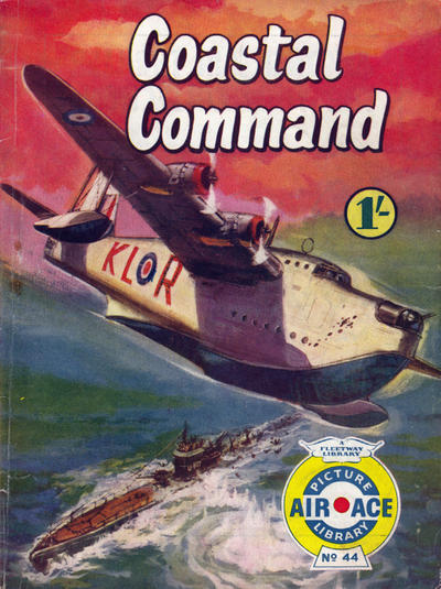 Cover for Air Ace Picture Library (IPC, 1960 series) #44