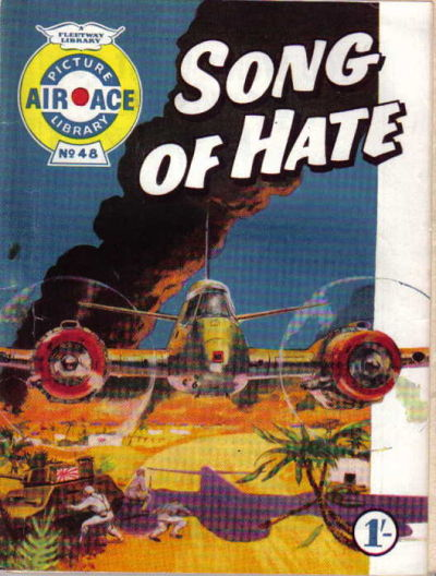 Cover for Air Ace Picture Library (IPC, 1960 series) #48