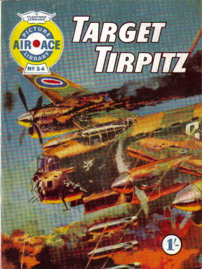 Cover for Air Ace Picture Library (IPC, 1960 series) #54