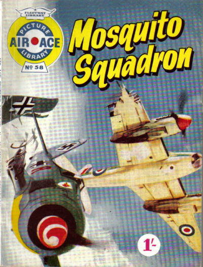 Cover for Air Ace Picture Library (IPC, 1960 series) #58