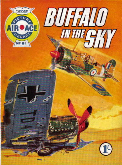 Cover for Air Ace Picture Library (IPC, 1960 series) #61