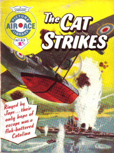 Cover for Air Ace Picture Library (IPC, 1960 series) #63