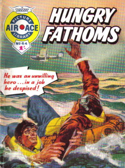 Cover for Air Ace Picture Library (IPC, 1960 series) #64