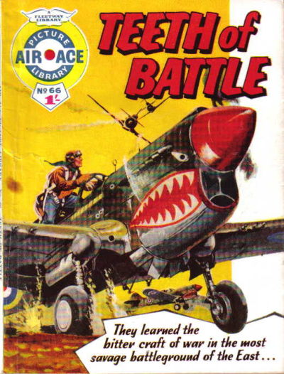 Cover for Air Ace Picture Library (IPC, 1960 series) #66
