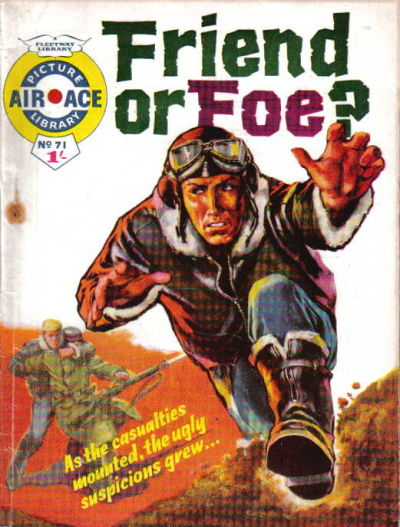 Cover for Air Ace Picture Library (IPC, 1960 series) #71