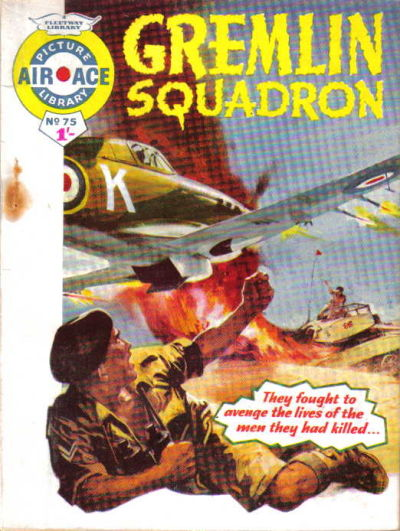 Cover for Air Ace Picture Library (IPC, 1960 series) #75