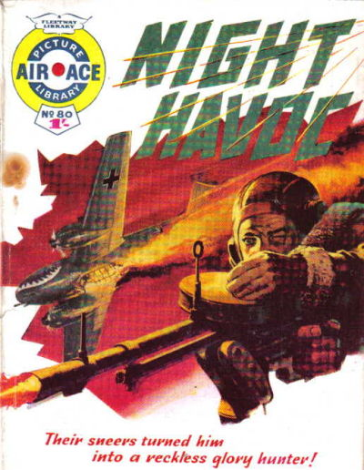 Cover for Air Ace Picture Library (IPC, 1960 series) #80