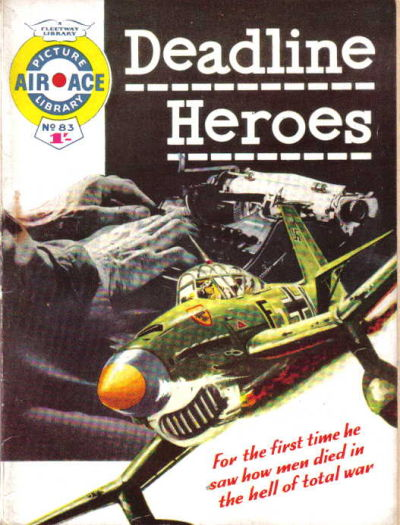 Cover for Air Ace Picture Library (IPC, 1960 series) #83