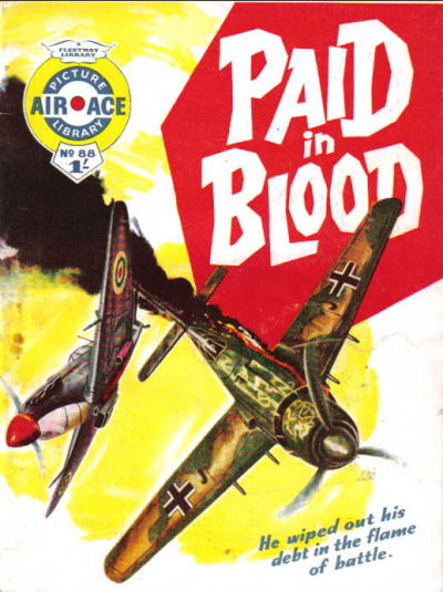 Cover for Air Ace Picture Library (IPC, 1960 series) #88