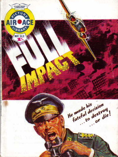Cover for Air Ace Picture Library (IPC, 1960 series) #92