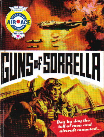 Cover for Air Ace Picture Library (IPC, 1960 series) #105