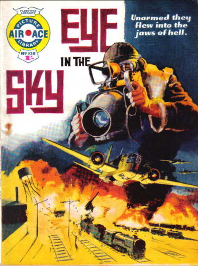 Cover for Air Ace Picture Library (IPC, 1960 series) #108