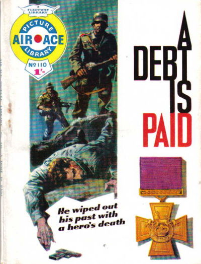 Cover for Air Ace Picture Library (IPC, 1960 series) #110
