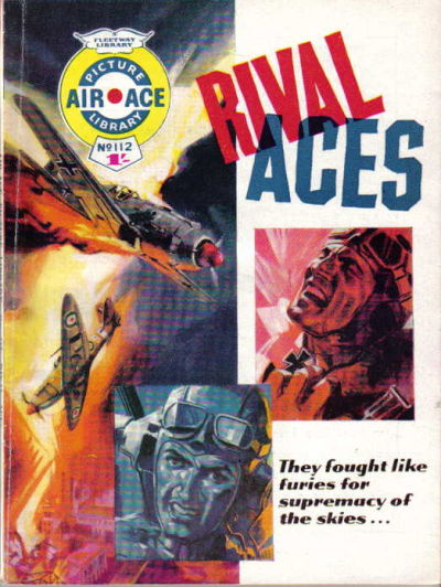 Cover for Air Ace Picture Library (IPC, 1960 series) #112