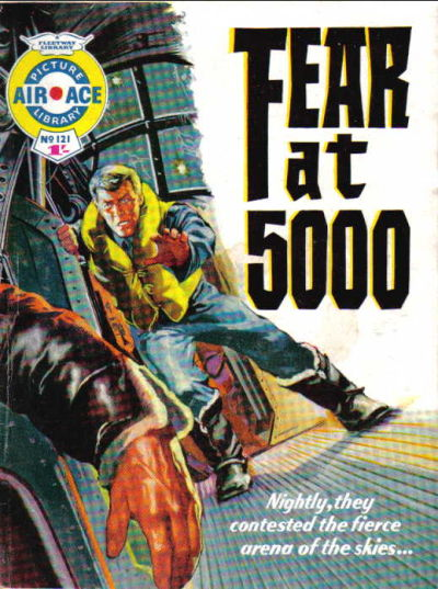Cover for Air Ace Picture Library (IPC, 1960 series) #121