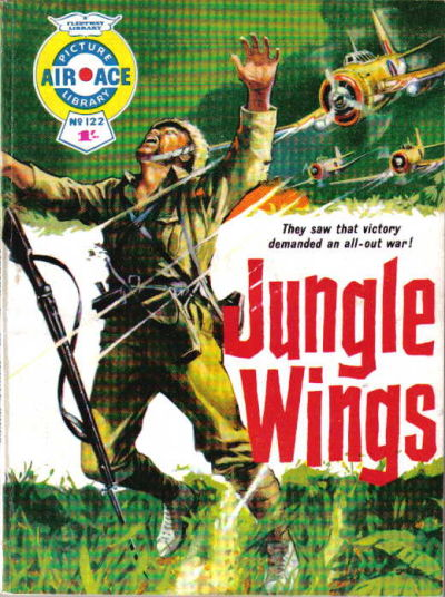 Cover for Air Ace Picture Library (IPC, 1960 series) #122