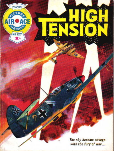 Cover for Air Ace Picture Library (IPC, 1960 series) #127