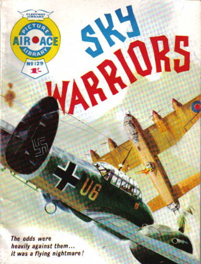 Cover for Air Ace Picture Library (IPC, 1960 series) #129
