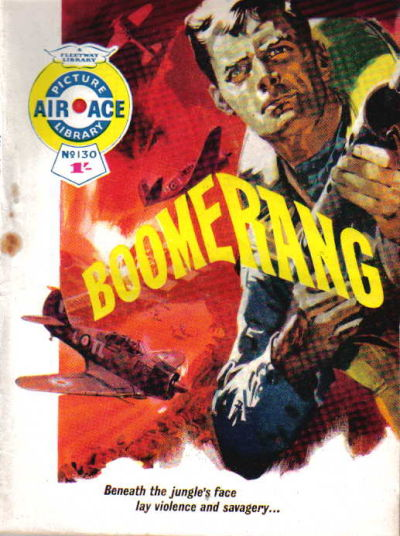 Cover for Air Ace Picture Library (IPC, 1960 series) #130