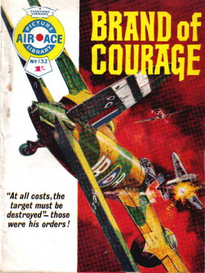 Cover for Air Ace Picture Library (IPC, 1960 series) #132