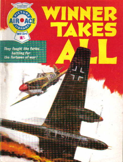 Cover for Air Ace Picture Library (IPC, 1960 series) #134