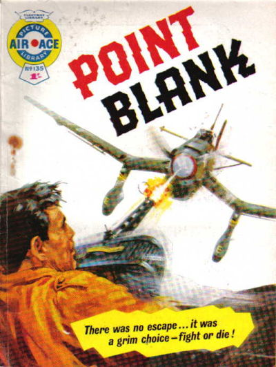 Cover for Air Ace Picture Library (IPC, 1960 series) #135