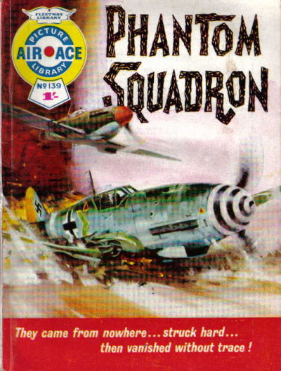 Cover for Air Ace Picture Library (IPC, 1960 series) #139
