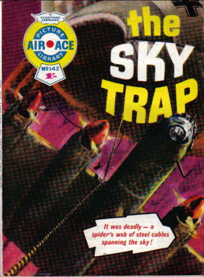 Cover for Air Ace Picture Library (IPC, 1960 series) #142