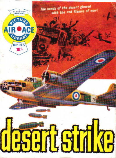 Cover for Air Ace Picture Library (IPC, 1960 series) #143